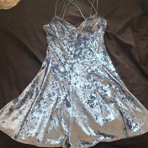 Velvet Cinderella blue dress